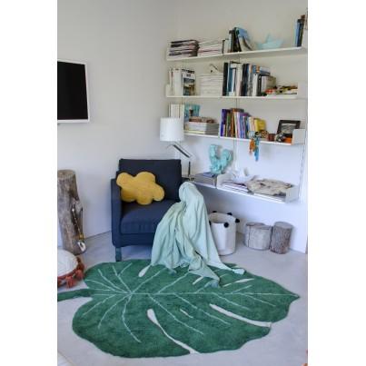 Ozdobna Poduszka dziecięca chmurka - Cloud Mustard Lorena Canals do pokoju dziecka