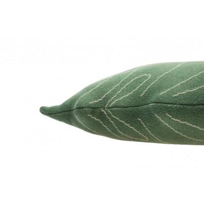 Ozdobna Poduszka dziecięca liść - Baby Leaf Lorena Canals do pokoju dziecka