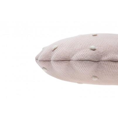 Ozdobna Poduszka dziecięca - Round Biscuit Pink Pearl Lorena Canals do pokoju dziecka