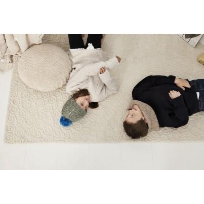 Ozdobna Poduszka dziecięca - Topo Crema Lorena Canals do pokoju dziecka