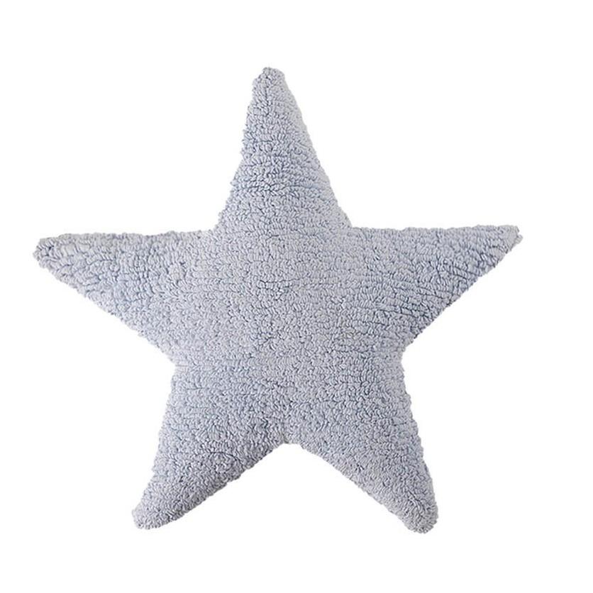 Ozdobna Poduszka dziecięca gwiazdka - Estrella Azul Lorena Canals do pokoju dziecka
