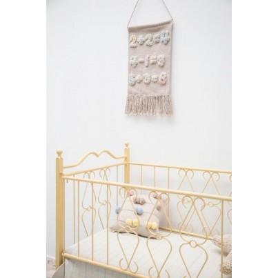 Dekoracja na ścianę dla dzieci cyferki - Baby Numbers Lorena Canals do pokoju dziecięcego