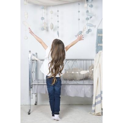 Dekoracja na ścianę dla dzieci rybki - Sea Sky Lorena Canals do pokoju dziecięcego