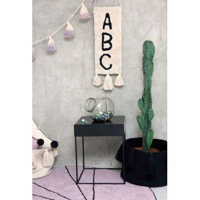 Dekoracja na ścianę dla dzieci literki - ABC Lorena Canals do pokoju dziecięcego