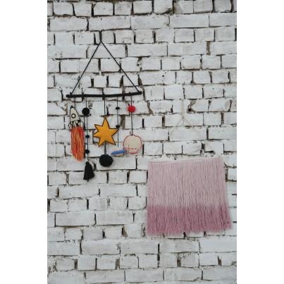 Dekoracja na ścianę dla dzieci kosmos - Galaxy Lorena Canals do pokoju dziecięcego