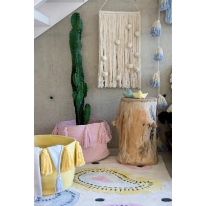 Dekoracja na ścianę dla dzieci - Cotton Field Beżowa Lorena Canals do pokoju dziecięcego