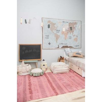 Miękka Pufa dla dzieci - Air Dune White Lorena Canals do pokoju dziecięcego