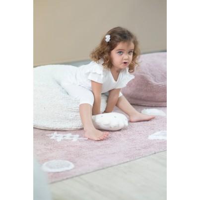 Miękka Pufa dla dzieci - Chill Vintage Nude Lorena Canals do pokoju dziecięcego