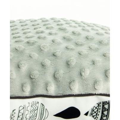 Duża puszysta poduszka dla dzieci - Krople I 40x60