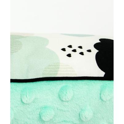 Duża puszysta poduszka dla dzieci - Pastelowe Chmurki 40x60